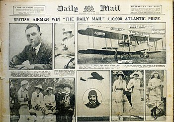 Daily Mail aviation prizes - Wikipedia