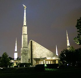 Templo de Dallas, no Texas