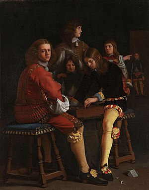 Michiel Sweerts - Draught players