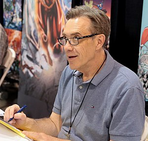 Dan Jurgens - Jurgens at the 2017 Phoenix Comicon