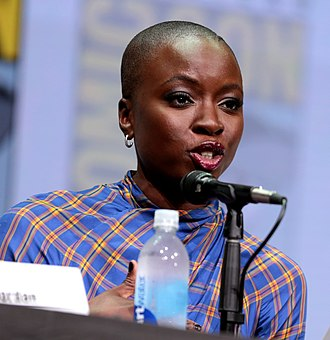 Danai Gurira - Gurira at the 2017 San Diego Comic-Con