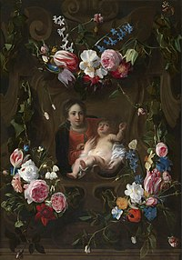 Daniël Seghers and Cornelis Schut (I) - Virgin and Child in a Flower Garland.jpg