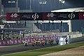 Dani Pedrosa leads the pack 2015 Losail 2.jpeg