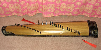 Traditional Vietnamese musical instruments - Image: Dantranh top 02