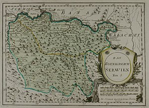 "Habsburg-occupied Serbia (1788–92) - Map of ""the Kingdom of Serbia"", by Franz Johann Joseph von Reilly (1791)."