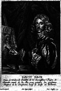 David Beck Dutch portrait painter