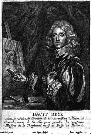 David Beck - Davit Beck in Het Gulden Cabinet p 161