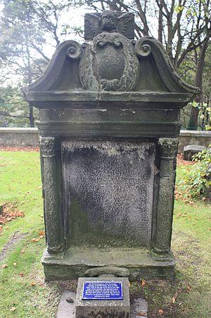 David Ferguson (reformer) - David Ferguson's grave, Dunfermline Abbey
