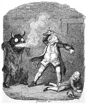 Davy Jones' Locker - Image: Davy Jones by George Cruikshank