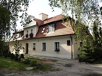Wisława Szymborska - The house where Wisława Szymborska was born, in Prowent, now part of Kórnik, Poland