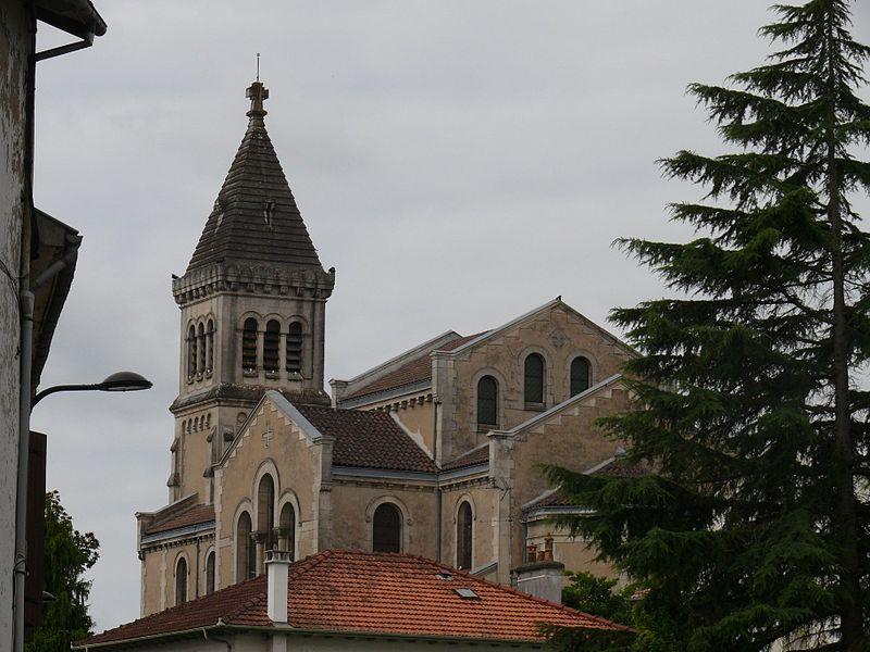 Saint-Vincent-de-Xaintes' church of Dax (Landes, Aquitaine, France).