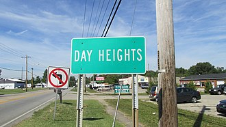 Day Heights, Ohio - Image: Day Heights OH1