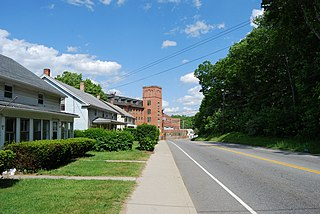 Dayville Historic District United States historic place