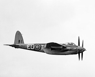 John Braham (RAF officer) - The Mosquito fighter: Braham would have used these types in ranger operations.