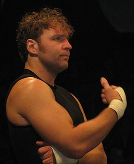 Good als Dean Ambrose in juli 2013