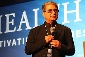 "Deepak Chopra - Deepak Chopra at the Clinton ""Health Matters"" Conference in La Quinta, California, January 14, 2013"