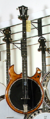 Deering Crossfire 5 Golden Honey Electric Banjo.png