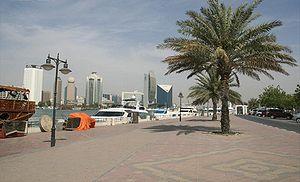 Bur Dubai - The Bur Dubai creek area, facing Deira.