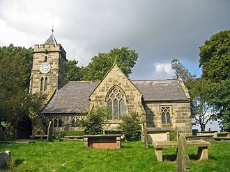 Delamere, Cheshire - Image: Delamere St Peter 2