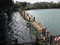 Demolition of Laytown footbridge - geograph.org.uk - 1242201.jpg