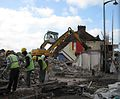Demolition of housing at Trubshaw Cross.JPG
