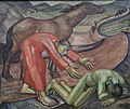 Den barmhjertige Samaritan. Elisa Maria Boglino. Olie på lærred .1928.jpg
