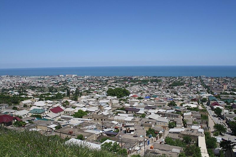 File:Derbent panoramic view. Dagestan. Russia. Панорама Дербента. Дагестан. Россия - panoramio (1).jpg
