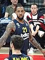 Derrick Williams (basketball) 21 Fenerbahçe Men's Basketball EuroLeague 20191010.jpg