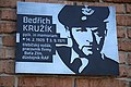Detail of plaque of Bedřich Kružík at revealing of plaque of Bedřich Kružík in Třebíč, Třebíč District.jpg