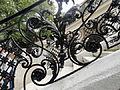 Detailaufnahme der Stiege in Klimt Villa.JPG