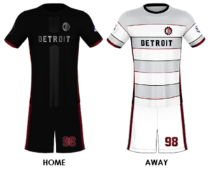 Detroit Mechanix - Image: Detroit Mechanix 2017 Uniform