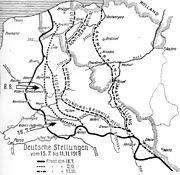 Deutsche Stellungen 1918