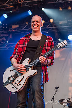 Devin Townsend al Rock Harz Open-Air Festival, Germania, l'11 luglio 2013
