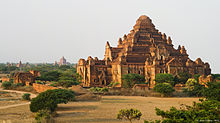 Dhammayangyi Temple at Bagan,Myanmar.jpg