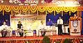Dharmendra Pradhan addressing the gathering at the inauguration of the newly constructed permanent building for Kendriya Vidyalaya-5 and Kendriya Vidyalaya-6, at Kalinga Nagar, in Bhubaneswar, Odisha.jpg