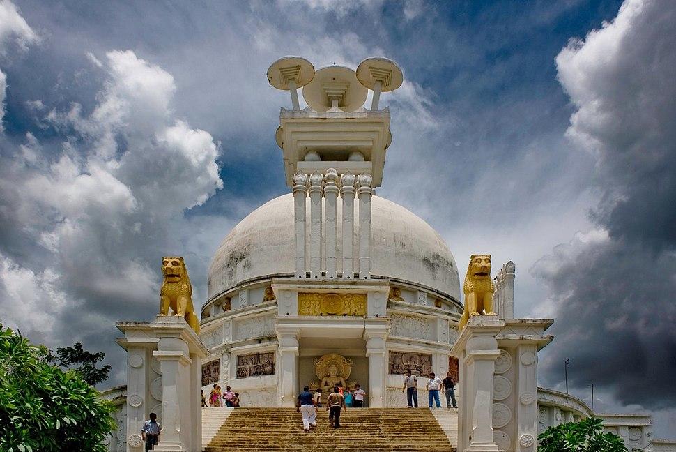 Dhauli-Giri-Shanti-Stupa-Bhubaneswar-Orissa