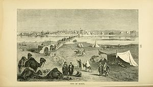 Mosul Question - An 1876 sketch of Mosul