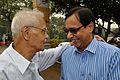 Dilip Kumar Pathak with Kozimuttam Ganapathy Kumar - Kolkata 2015-11-17 4852.JPG