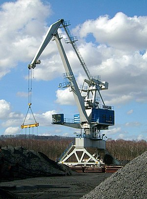 Heavy equipment - Fixed cranes are also a kind of construction machinery or heavy equipment.