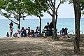 Dimanche en famille sur la plage des Tamarins (São Tomé) (9).jpg