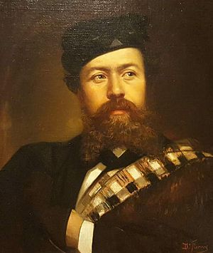 Dionisio Fierros - Self-portrait (1866)