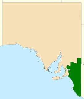 Division of Barker Australian federal electoral division
