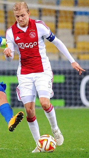 Nicolai Boilesen - Boilesen playing for Ajax in March 2015
