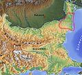 Dobrudscha Balkan topo de.jpg