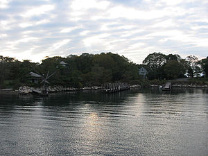 Fishers Island, New York - Docks at Fishers Island