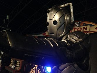 Nightmare in Silver - The redesigned Cybermen as they appear at the Doctor Who Experience