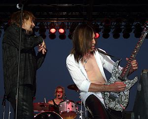 Dokken - Dokken performing with Jeff Martin on drums in June 2008