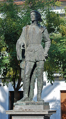 1=Statue of Don Juan in square of Refinadores in Seville