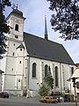 Doubravník, kostel Povýšení svatého Kříže (2005-09-11; 01).jpg