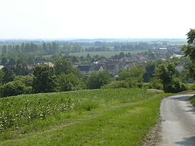 Le village vu de la Butte.